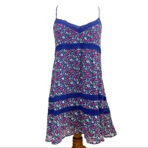 Abercrombie Fitch Crisscross floral Babydoll dress